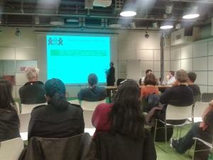 Talking about data at SugarCamp#3